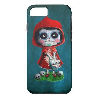 Caperucita Rojo de Dia de los Muertos Funda iPhone 7