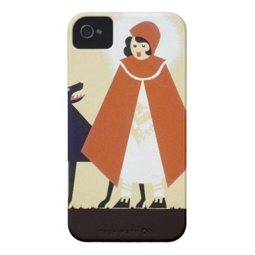 Caperucita Rojo Case-Mate iPhone 4 Funda
