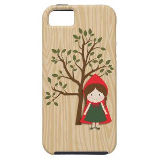 Caperucita Rojo Funda Para iPhone SE/5/5s