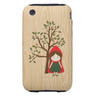 Caperucita Rojo Funda Though Para iPhone 3