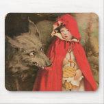 Caperucita Rojo Jessie Wilcox Smith del vintage Tapetes De Ratones