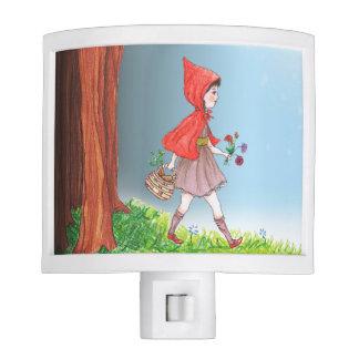 Caperucita Rojo Lámparas De Noche