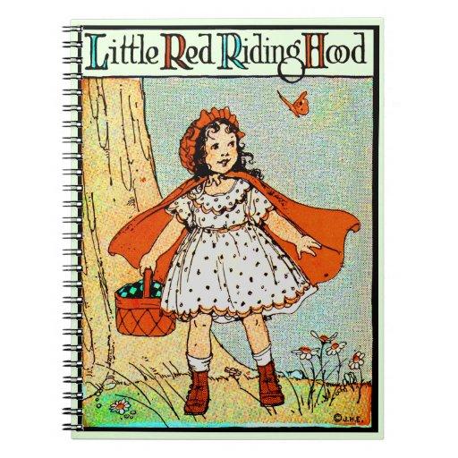 Caperucita Rojo Libro De Apuntes Con Espiral