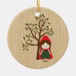 Caperucita Rojo Ornaments Para Arbol De Navidad