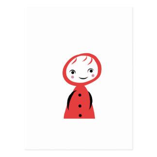 Caperucita Rojo Postal