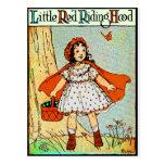 Caperucita Rojo Tarjetas Postales