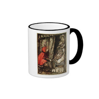 Caperucita Rojo Tazas De Café