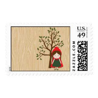 Caperucita Rojo Timbres Postales
