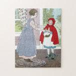 Caperucita Rojo: Traiga esto a la abuela Puzzle