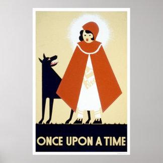 Caperucita Rojo WPA 1937 Poster