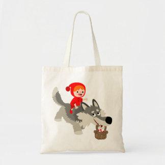 Caperucita Rojo y el bolso del lobo Bolsa Tela Barata