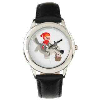 Caperucita Rojo y el reloj del lobo