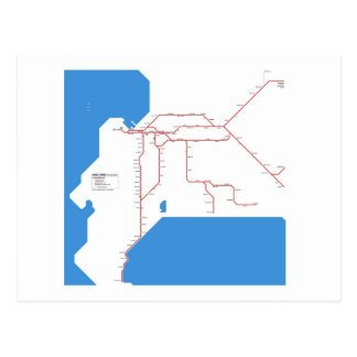 Capetown subway postcard