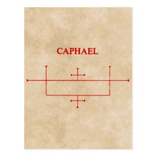 caphael postcard