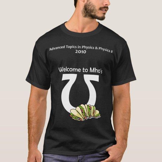 CAPhysics (white text) T-Shirt