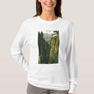 Capilano Canyon View of Crown Mountain T-Shirt