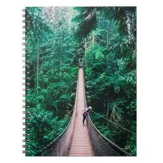 Capilano, Suspension Bridge.jpg Notebook