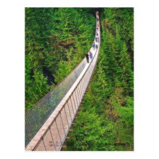 Capilano Suspension Bridge Postcard