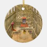Capilla de la audiencia en el Vatican (grabado del Adornos De Navidad