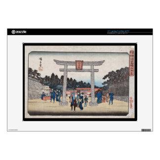 Capilla de la serie II Sannō en Nagatanobaba Calcomanías Para Portátiles