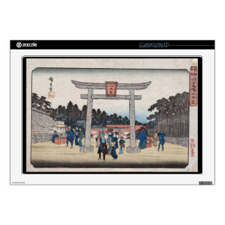 Capilla de la serie II Sannō en Nagatanobaba Portátil Calcomanía
