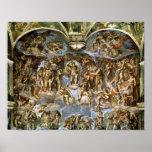 Capilla de Sistine: El juicio pasado, 1538-41 Impresiones