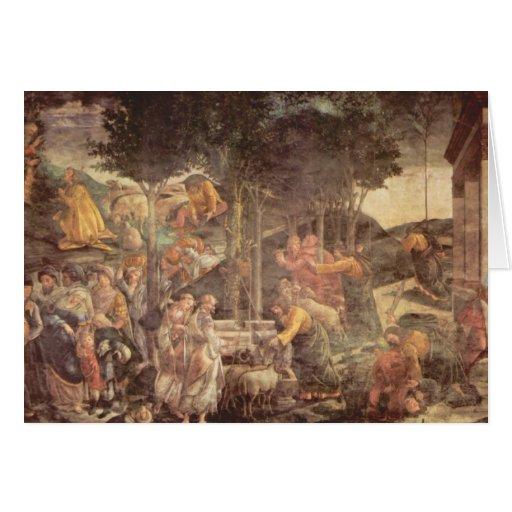 Capilla de Sistine - la juventud de Moses Felicitaciones