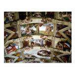 Capilla de Sistine, Vatican, Roma, Italia Tarjeta Postal