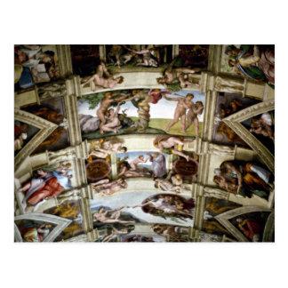 Capilla de Sistine, Vatican, Roma, Italia Postal