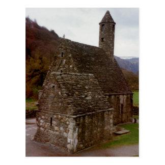 Capilla de St Kevin Glendalough Irlanda Postales