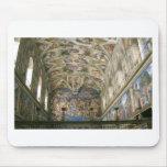 Capilla de Vatican Sistine Alfombrillas De Ratones