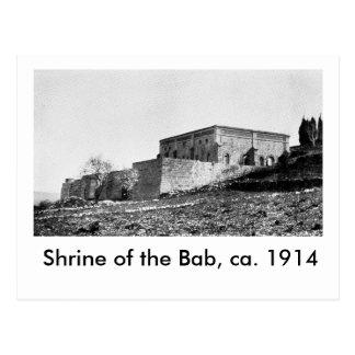 Capilla del Bab, CA 1914 Postal