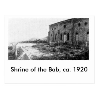 Capilla del Bab, CA 1920, Postal