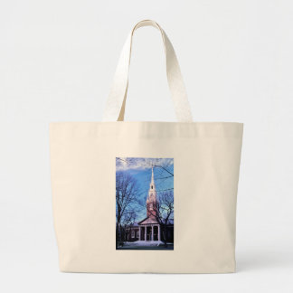 Capilla del monumento de Harvard Bolsa Tela Grande