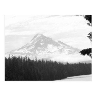 Capilla del Mt y postal perdida del lago