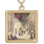 Capilla del sepulcro santo, el 10 de abril de 1839 colgante cuadrado