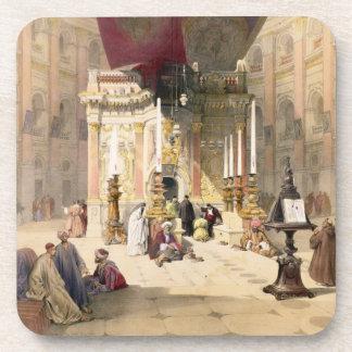 Capilla del sepulcro santo, el 10 de abril de 1839 posavasos de bebida
