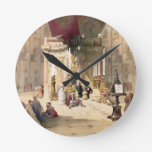 Capilla del sepulcro santo, el 10 de abril de 1839 reloj redondo mediano
