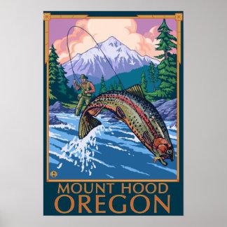 Capilla del soporte, escena de OregonFisherman Poster