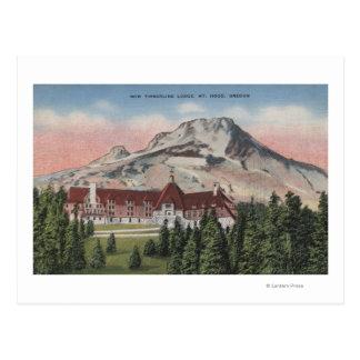 Capilla del soporte, Oregon - vista del nuevo Tarjeta Postal