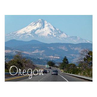Capilla del soporte, postal de Oregon