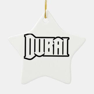 Capilla Dubai de encargo, UAE del representante Ya Adorno Navideño De Cerámica En Forma De Estrella