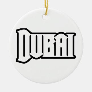 Capilla Dubai de encargo, UAE del representante Ya Adorno Navideño Redondo De Cerámica