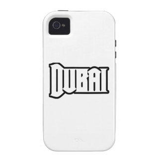 Capilla Dubai de encargo, UAE del representante Ya Case-Mate iPhone 4 Funda