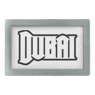 Capilla Dubai de encargo, UAE del representante Ya Hebillas Cinturón Rectangulares
