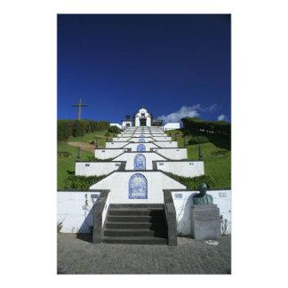 Capilla en Azores Impresion Fotografica