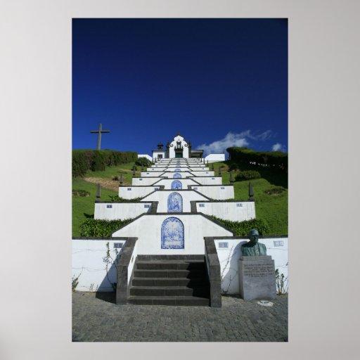 Capilla en Azores Póster
