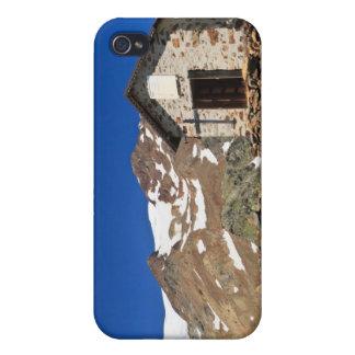 capilla en el parque nacional de Stelvio iPhone 4 Carcasa