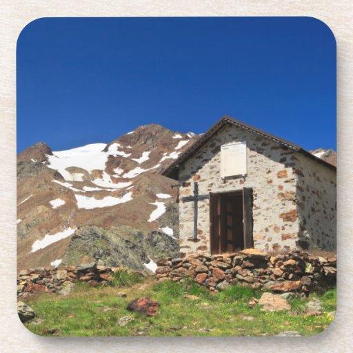 capilla en el parque nacional de Stelvio Posavasos
