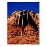 Capilla en la roca, Sedona, Arizona Tarjetas Postales
